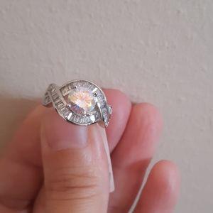 🌈Gorgeous Aurora Borealis Ring